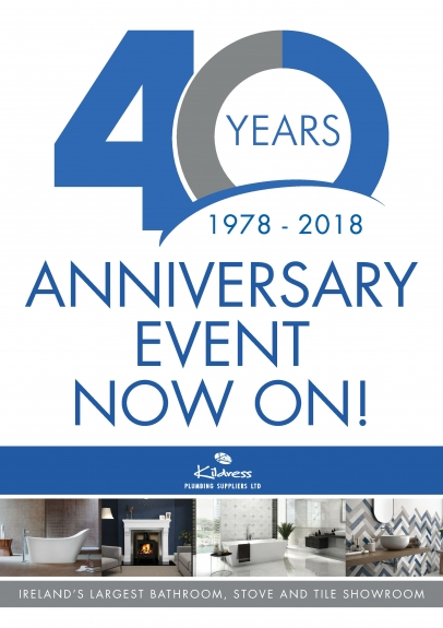 40 YEAR ANNIVERSARY EVENT NOW ON