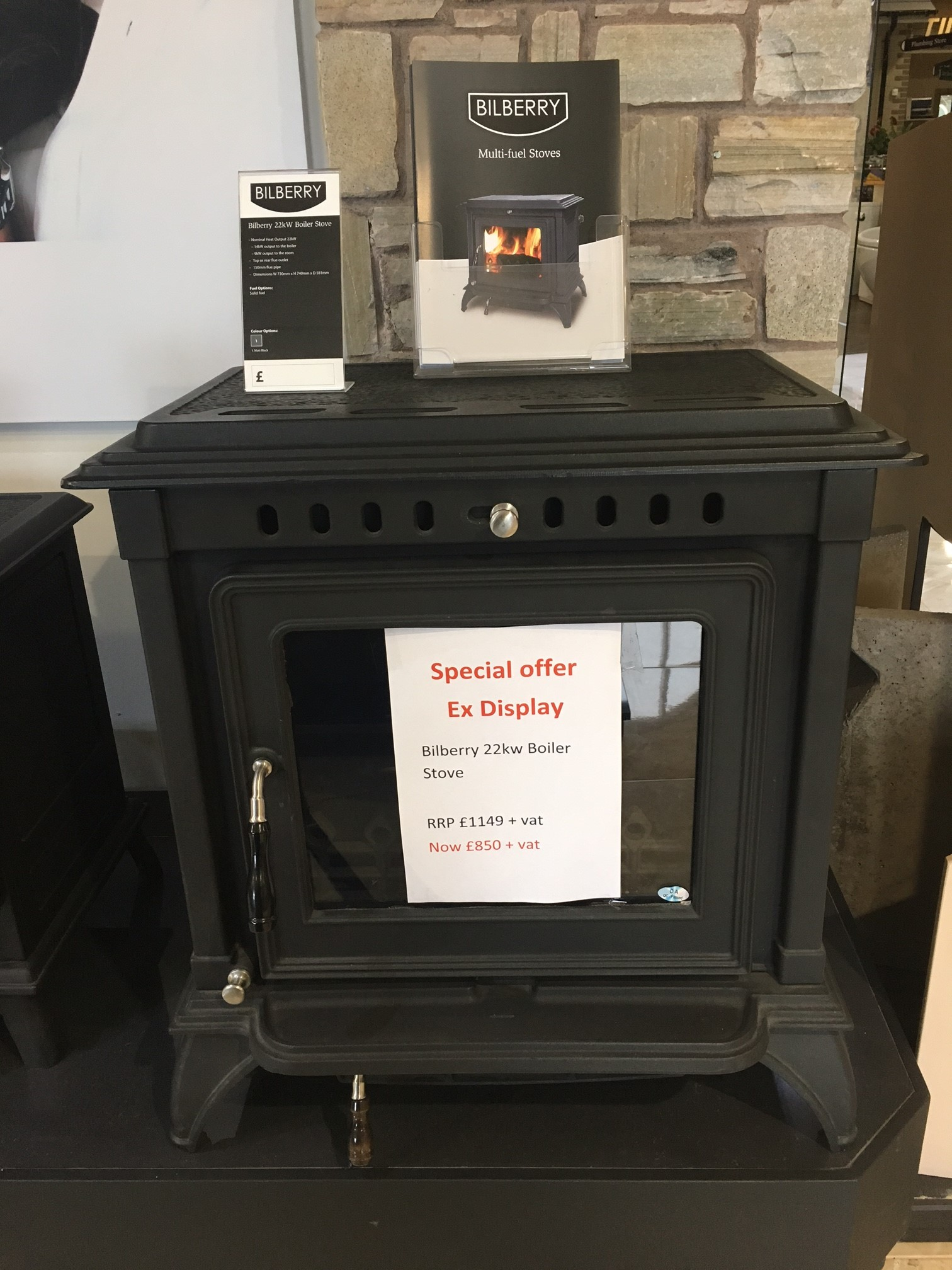Display Stove To Clear
