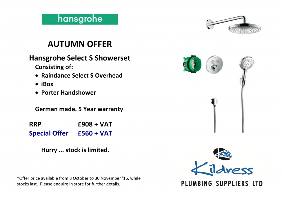 Hansgrohe Shower Offers