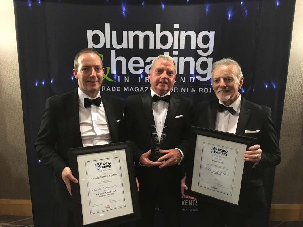PLUMBING & HEATING AWARD WINNERS