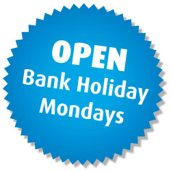 Open Bank Holiday Monday