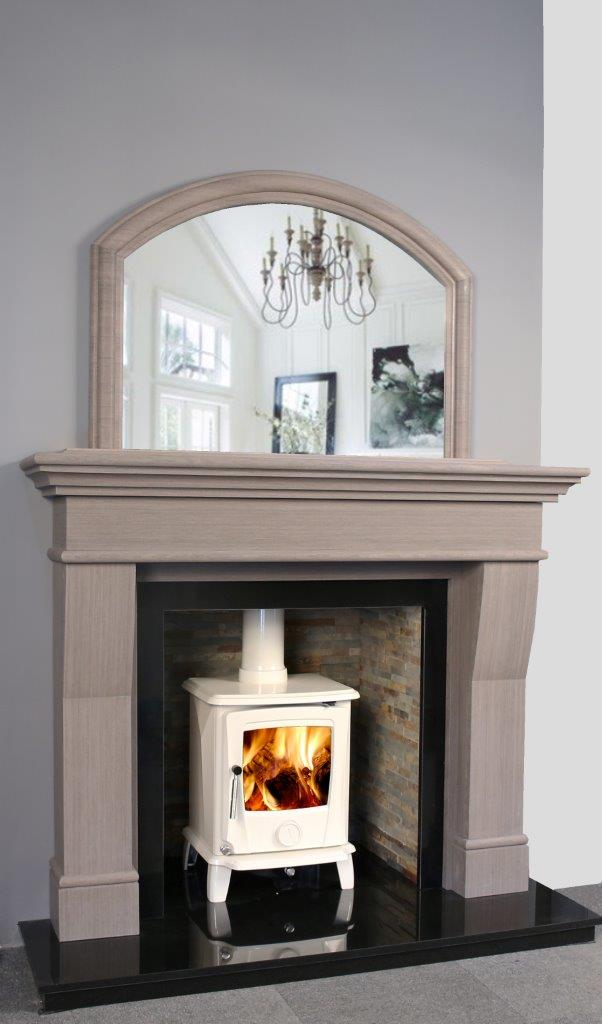 Fireplaces northern ireland kildress plumbing for Grey stone fireplace surrounds