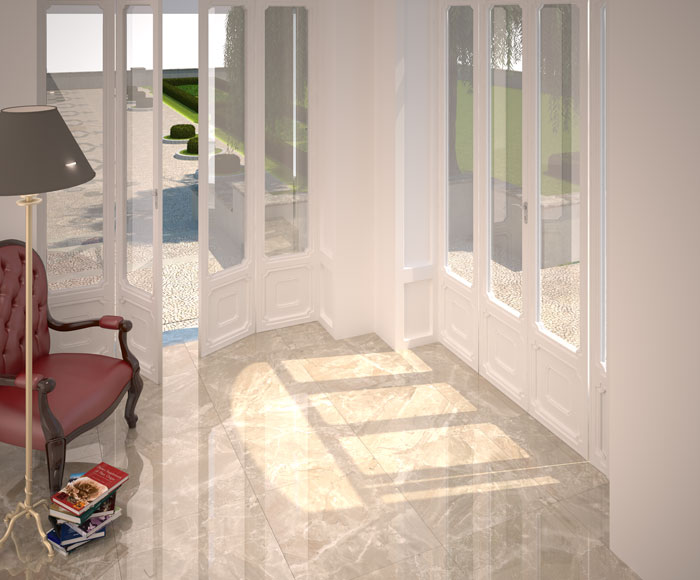 Brecha Beige 60 x 60 floor tile CT6