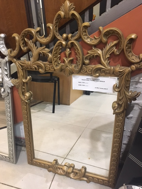 Gold mirror Traditional CBM4